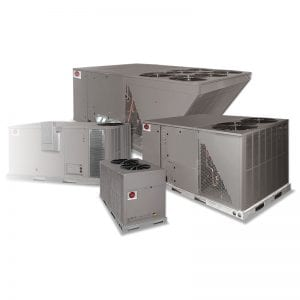 Commercial heating and cooling Units